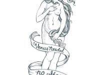 Venus Needed No Shoes